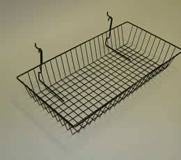 Stainless Steel Wire Baskets for Storage, Security with Containers