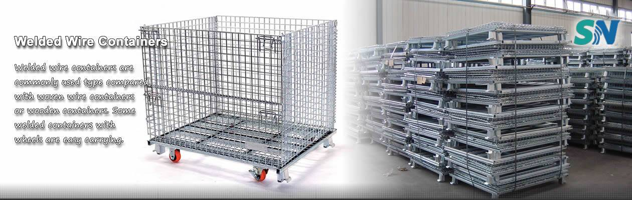 Wire Mesh Baskets for Washing, Degreasing, Kitchen, Fruit or Animals